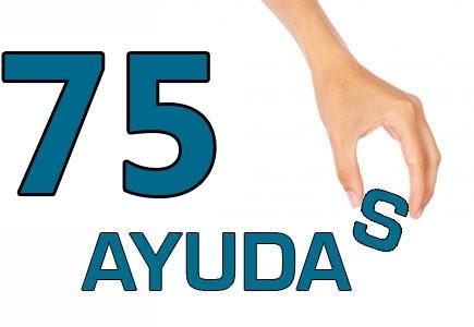 75 AYUDAS DE MATERIAL ESCOLAR…