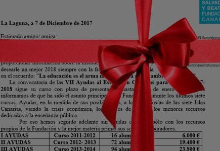 Carta a los socios - Navidad 2017