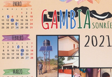 Calendario Gambia Sonríe